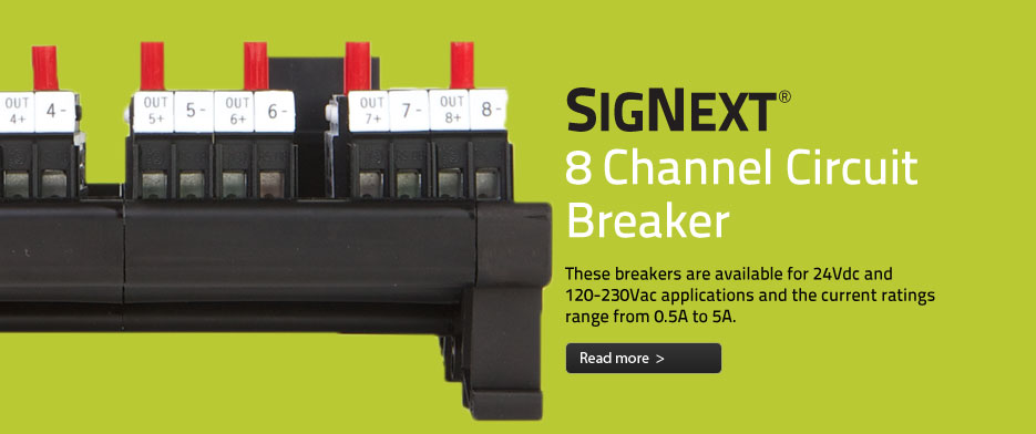 SigNext 8 Channel Circuit Breaker