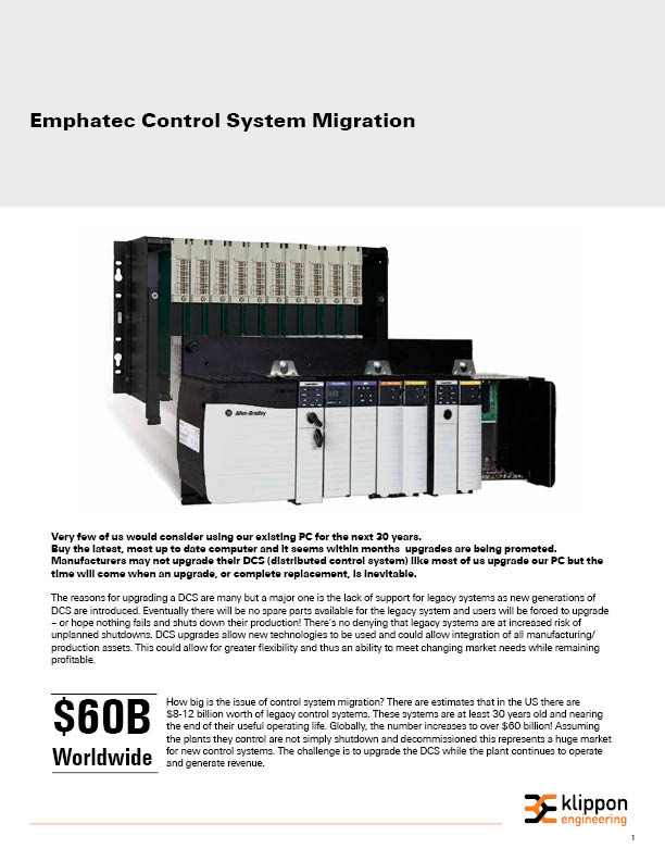 Control System Migration Whitepaper